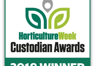 Horticulture week Custodian Awards winner's logo