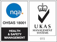 nqa ohsas 18001 ukas logo