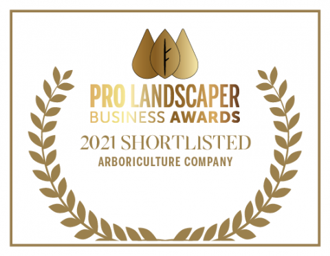 Pro Landscaper Business Awards - 2021 Shortlisted - Arboriculture Company