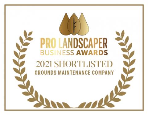 Pro Landscaper Business Awards - 2021 Shortlisted - Grounds Maintenance Company